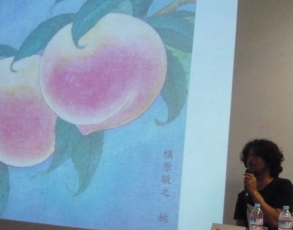 「本物」らしいデザインを作りたいコンセプトから生まれた、槇原敬之の「桃」