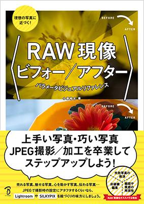 RAW現像ビフォーアフター表紙